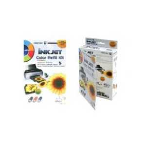 Color Inkjet Refill Kit - 30ml each cyan, magenta, yellow ink