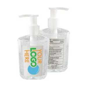 Custom printed Your Logo Hand Sanitizer, 8oz - minimum order 48