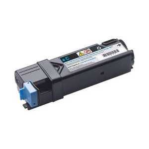 Original Dell 2150, 2155 Cyan toner cartridge, High Yield, 331-0716, 769T5, THKJ8, 2500 pages