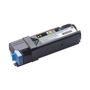 Original Dell 2150, 2155 Yellow toner cartridge, High Yield, 331-0718, 9X54J, NPDXG, 2500 pages