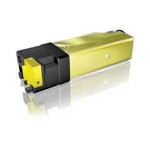 Compatible Dell 2150, 2155 Yellow toner cartridge, High Yield, 331-0718, NPDXG, D6FXJ, 2500 pages