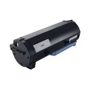 Compatible Dell B2360, B2375, B3460, B3465 Black toner cartridge, 7MC5J, RGCN6, 331-9803, 2500 pages