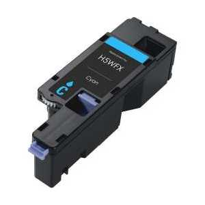 Compatible Dell E525 Cyan toner cartridge, VR3NV, 593-BBJU, 1400 pages