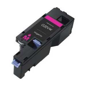 Compatible Dell E525 Magenta toner cartridge, WN8M9, 593-BBJV, 1400 pages