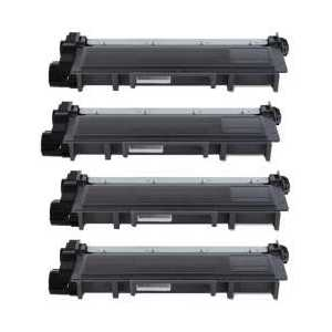 Compatible Dell E310, E514, E515 toner cartridges, High Yield, 4 pack