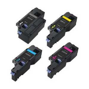 Compatible Dell E525 toner cartridges, 4 pack