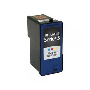 Dell Series 5 High Capacity Color compatible ink cartridge - M4646, R5974