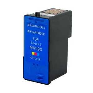 Dell Series 9 High Capacity Color remanufactured ink cartridge - MK993, MW174