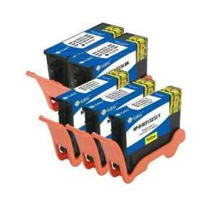 Multipack - Dell Series 33 compatible ink cartridges - 5 pack