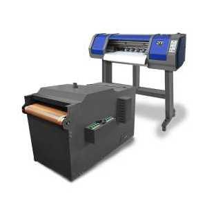 DTF PRO Panthera Direct to Film Printer with Roll Feeder, Powder Application and Curing Machine