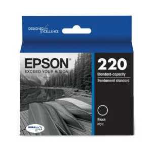 Original Epson 220 Black ink cartridge, T220120