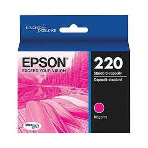 Original Epson 220 Magenta ink cartridge, T220320