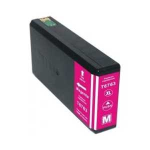 Epson 676XL High Capacity Pigment Magenta remanufactured ink cartridge - T676XL320