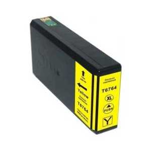 Epson 676XL High Capacity Pigment Yellow remanufactured ink cartridge - T676XL420