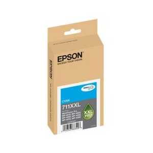 Epson 711XXL Cyan Extra High Capacity genuine OEM ink cartridge - T711XXL220