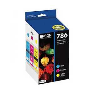 Multipack - Epson 786 genuine OEM ink cartridges - T786520 - 3 pack