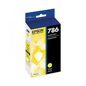 Original Epson 786 Yellow ink cartridge, T786420