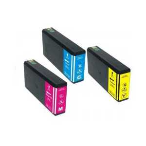 Remanufactured Epson 786XL ink cartridges, 3 pack