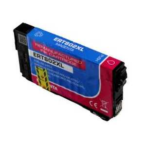Remanufactured Epson 802XL Magenta ink cartridge, High Capacity, T802XL320
