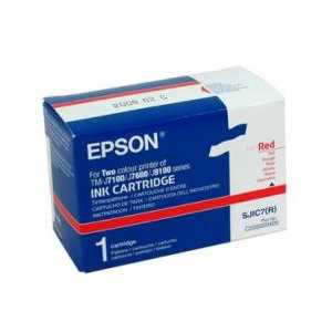 Epson SJIC7 Red genuine OEM ink cartridge - C33S020405