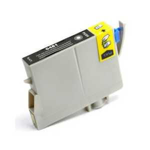 Remanufactured Epson 48 Black ink cartridge, T048120