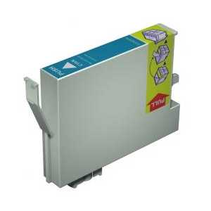 Remanufactured Epson 54 Cyan ink cartridge, T054220