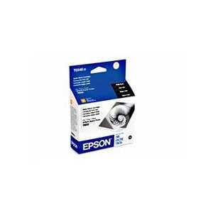 Original Epson 54 Matte Black ink cartridge, T054820