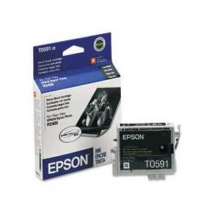 Epson T0591 Photo Black genuine OEM ink cartridge - T059120