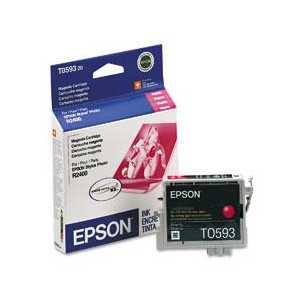 Epson T0593 Magenta genuine OEM ink cartridge - T059320