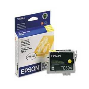 Epson T0594 Yellow genuine OEM ink cartridge - T059420