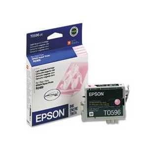 Epson T0596 Light Magenta genuine OEM ink cartridge - T059620