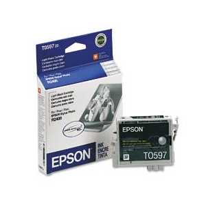 Epson T0597 Light Black genuine OEM ink cartridge - T059720