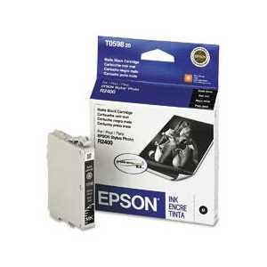 Original Epson T059820 Matte Black ink cartridge