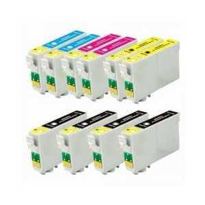 Multipack - Epson 60 remanufactured ink cartridges - 10 pack