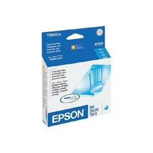 Original Epson 60 Cyan ink cartridge, T060220
