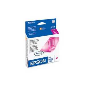 Original Epson 60 Magenta ink cartridge, T060320