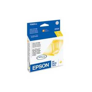 Original Epson 60 Yellow ink cartridge, T060420