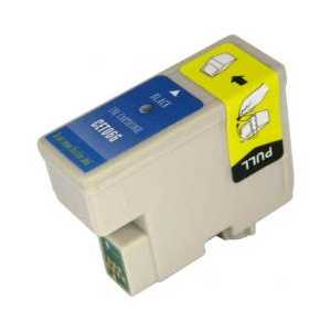 Epson T066 Black remanufactured ink cartridge