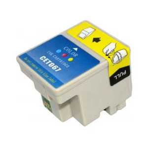 Epson T067 Color remanufactured ink cartridge
