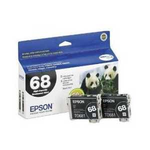 Multipack - Epson 68 genuine OEM ink cartridges - T068120-D2 - 2 pack