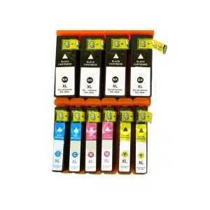 Multipack - Epson 68 / 69 remanufactured ink cartridges - 10 pack