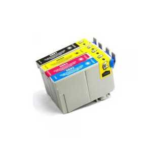 Multipack - Epson 69 remanufactured ink cartridges - 4 pack