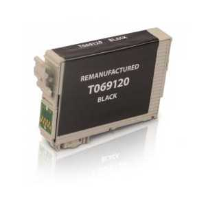 Epson 69 Black remanufactured ink cartridge - T069120