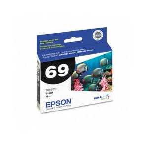 Original Epson 69 Black ink cartridge, T069120
