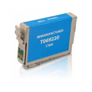 Remanufactured Epson 69 Cyan ink cartridge, T069220