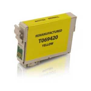 Remanufactured Epson 69 Yellow ink cartridge, T069420