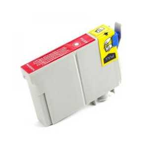 Remanufactured Epson T0733 Magenta ink cartridge