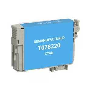 Remanufactured Epson 78 Cyan ink cartridge, T078220