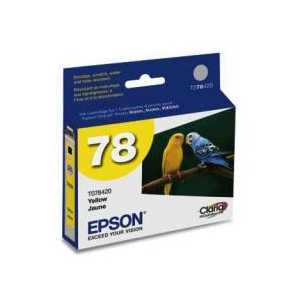 Original Epson 78 Yellow ink cartridge, T078420