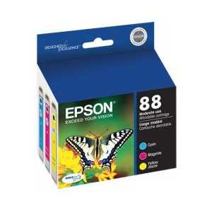Multipack - Epson 88 genuine OEM ink cartridges - T088520 - 3 pack